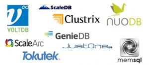 NewSQL-db-logos