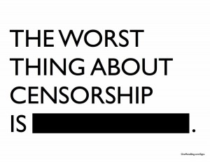 Taking pride in Censorship and Business