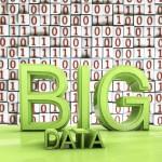 Big data - 3d rendered illustration