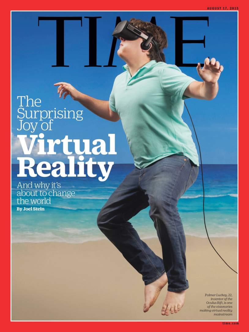 The suprising joy of virtual reality