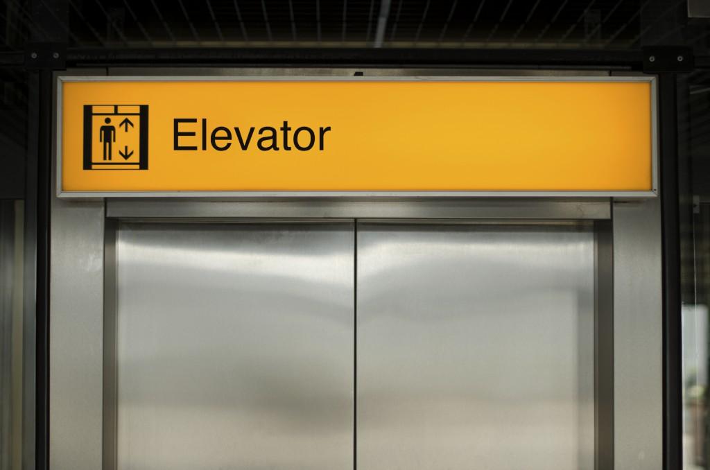 iStock_000026113990_Elevator sign