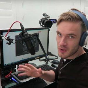 Vlogging, Snapchat: PewDiePie