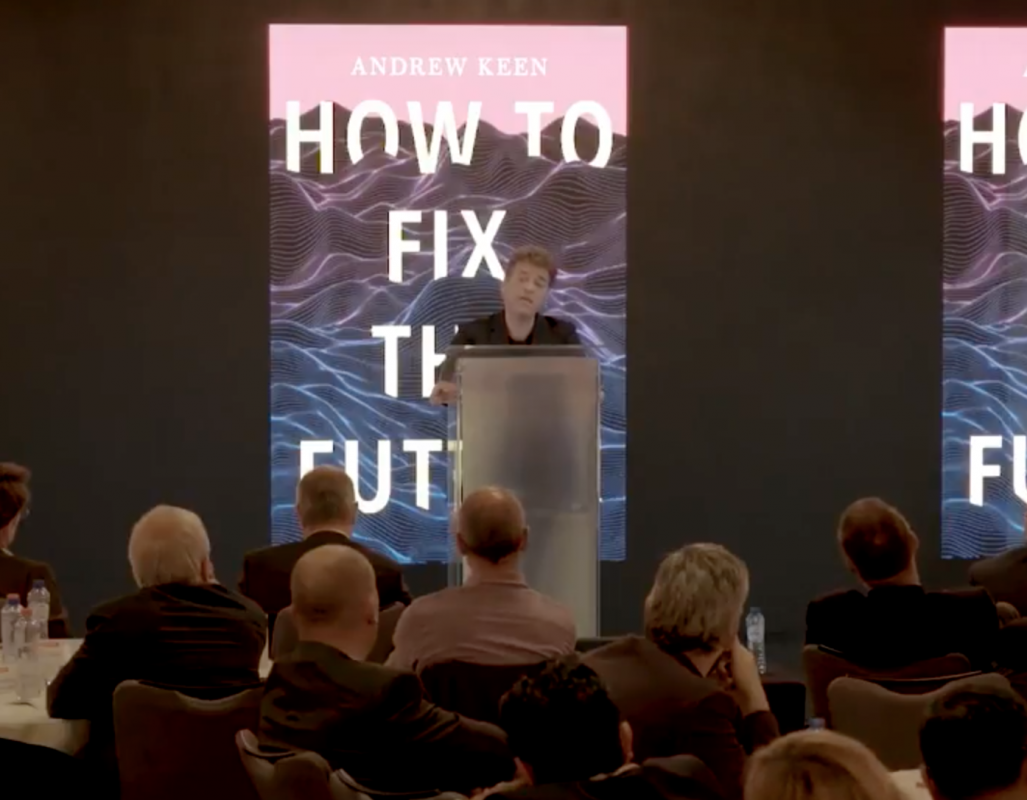 Andrew Keen, Digital Happiness, How To Fix the Future