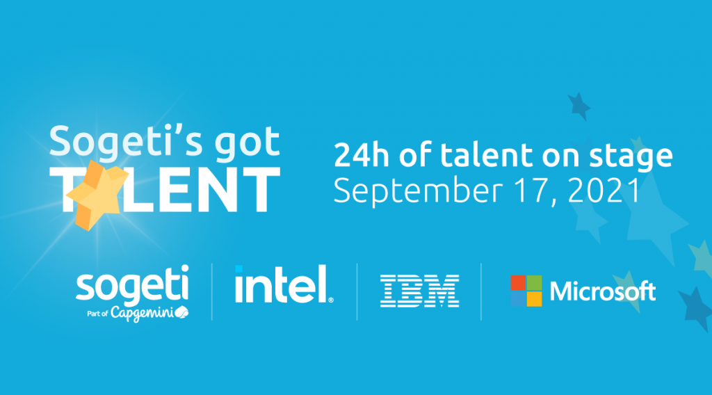 Sogeti's Got Talent was sponsored by Intel, IBM and Microsoft. Together they discussed all the latest in technology!